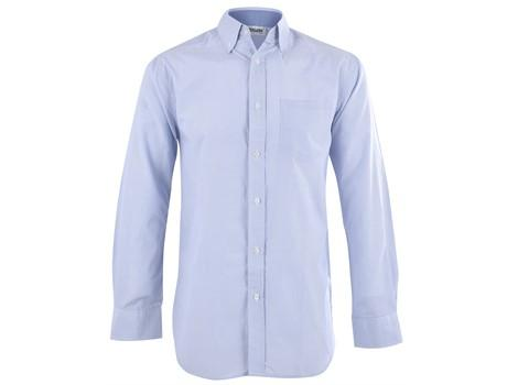 Mens Long Sleeve Lisbon Shirt - Sky Blue Only