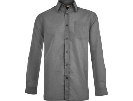 Mens Long Sleeve Apollo Shirt - Charcoal Only