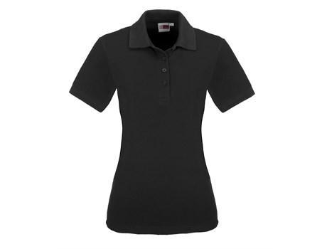 Ladies Elemental Golf Shirt - Black Only