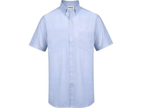 Mens Short Sleeve Earl Shirt - Sky Blue Only