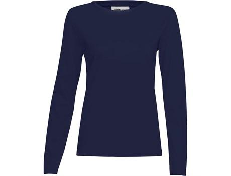 Ladies Long Sleeve Altitude T-shirt - Navy Only