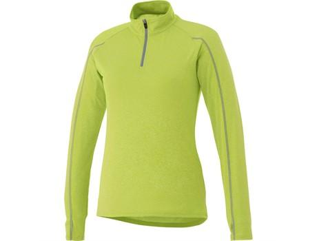Ladies Taza 1/4 Zip Sweater - Lime Only
