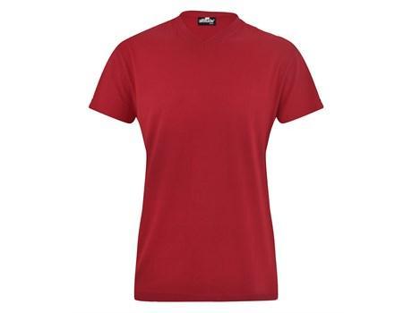 Ladies Vital 160 V-neck T-shirt - Red Only
