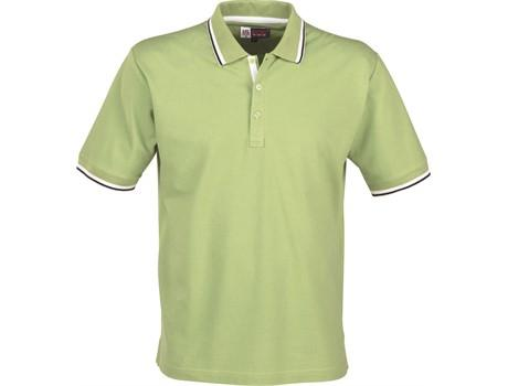 Mens City Golf Shirt - Lime Only