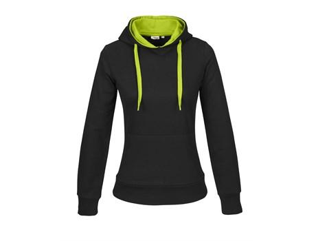 Ladies Solo Hooded Sweater - Lime Only