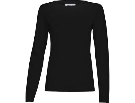Ladies Long Sleeve Altitude T-shirt - Black Only