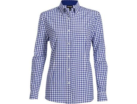 Ladies Long Sleeve Copenhagen Shirt - Royal Blue Only