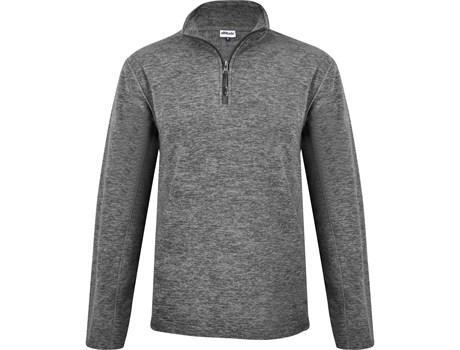 Mens Energi Micro Fleece Sweater - Grey Only
