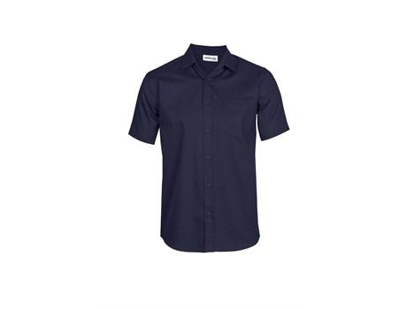 Mens Short Sleeve Seattle Twill Shirt - Navy Only
