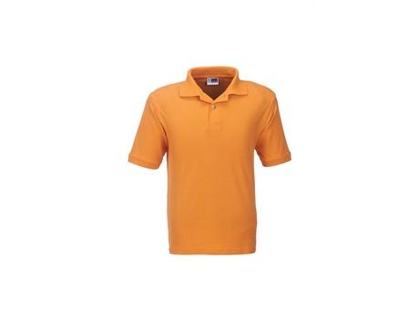 Mens Boston Golf Shirt - Orange Only