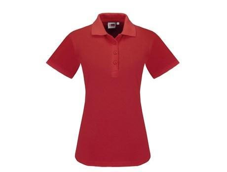Ladies Elemental Golf Shirt - Red Only