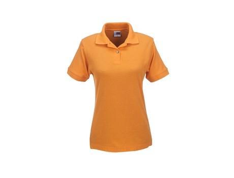 Ladies Boston Golf Shirt - Orange Only