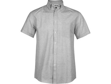 Mens Short Sleeve Earl Shirt - Grey Only