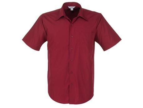 Mens Short Sleeve Metro Shirt - Red Only