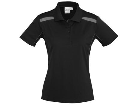 Ladies United Golf Shirt - Grey Only