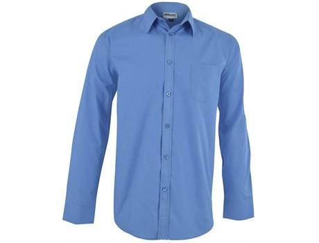 Mens Long Sleeve Haiden Shirt - Light Blue Only