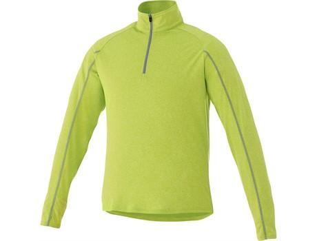 Mens Taza 1/4 Zip Sweater - Lime Only