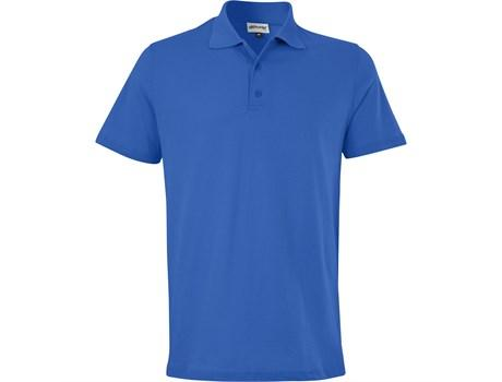 Mens Michigan Golf Shirt - Royal Blue Only