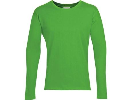 Mens Long Sleeve Altitude T-shirt - Lime Only