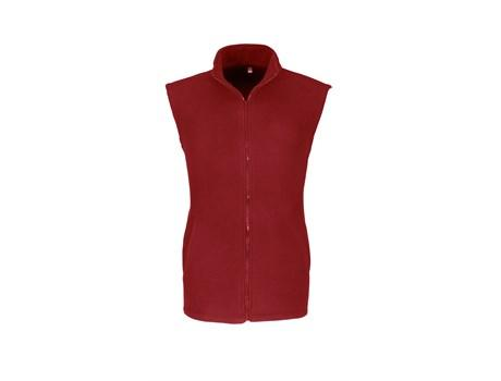 Mens Yukon Micro Fleece Bodywarmer - Red Only