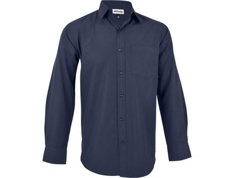 Mens Long Sleeve Catalyst Shirt - Navy Only