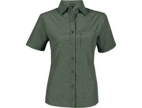 Ladies Short Sleeve Cedar Shirt - Green Only