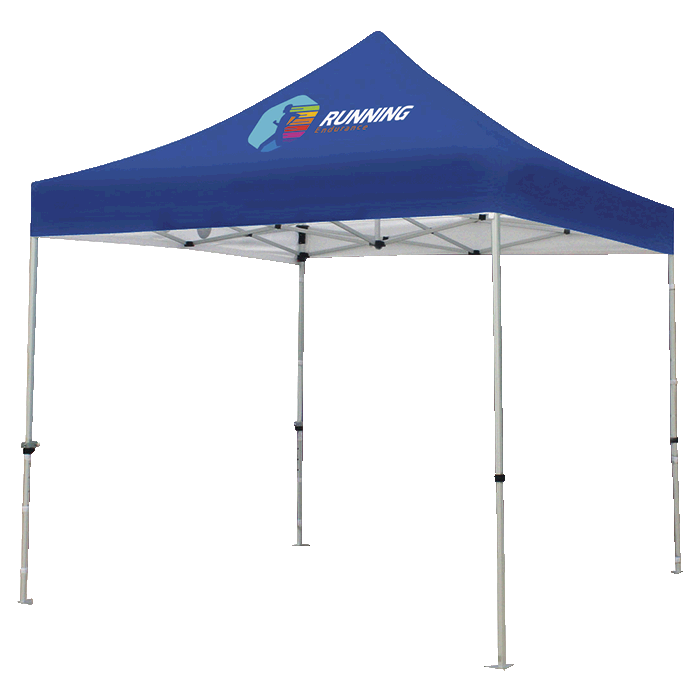 Gazebo Aluminium Frame - Frame With Shelf - Digital Print