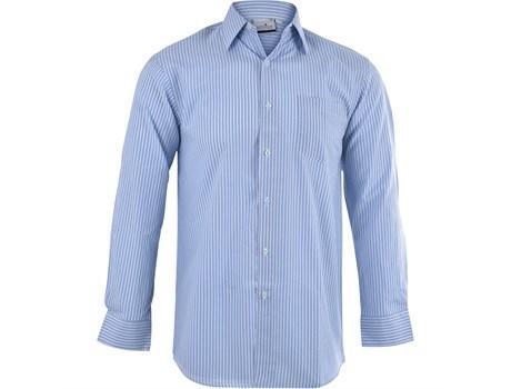 Mens Long Sleeve Drew Shirt - Light Blue Only