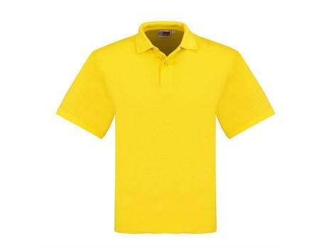 Mens Elemental Golf Shirt - Yellow Only