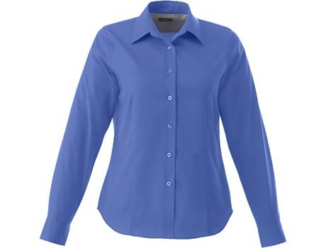 Ladies Long Sleeve Wilshire Shirt - Royal Blue Only