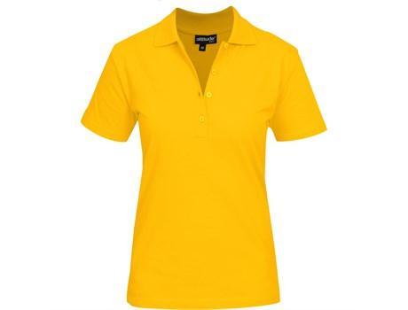 Ladies Michigan Golf Shirt - Yellow Only