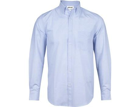 Mens Long Sleeve Earl Shirt - Sky Blue Only