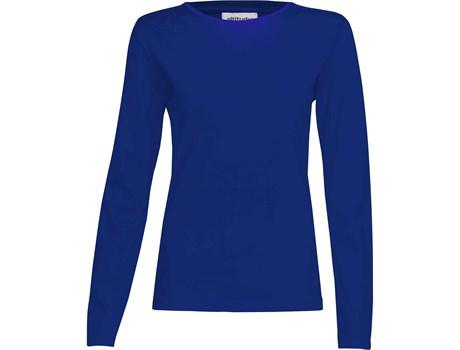 Ladies Long Sleeve Altitude T-shirt - Royal Blue Only