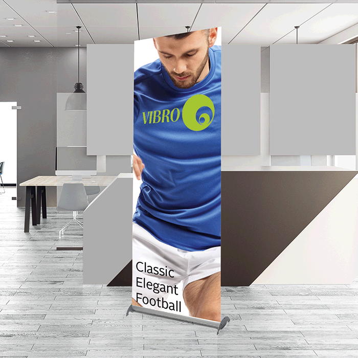 Pull Up Banner Deluxe-bnw