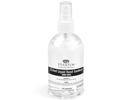 Eva & Elm Rochdale Liquid Hand Sanitiser Spray - 250ml
