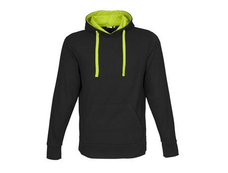Mens Solo Hooded Sweater - Lime Only