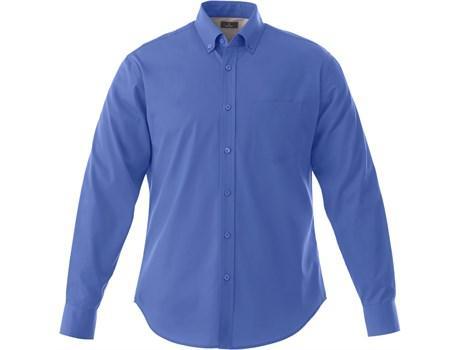 Mens Long Sleeve Wilshire Shirt - Royal Blue Only