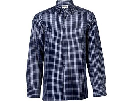 Mens Long Sleeve Prestige Shirt - Navy Only