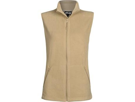 Ladies Oslo Fleece Bodywarmer - Stone Only