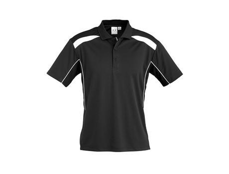 Mens United Golf Shirt - Black Only
