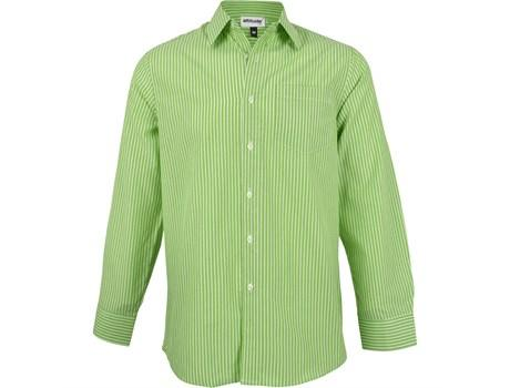 Mens Long Sleeve Drew Shirt - Lime Only
