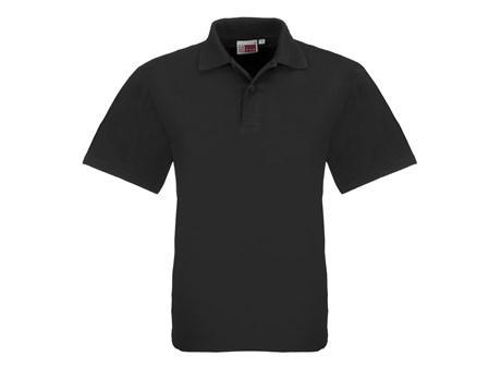 Mens Elemental Golf Shirt - Black Only