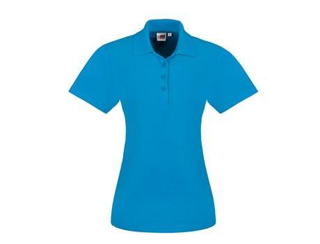 Ladies Elemental Golf Shirt - Aqua Only
