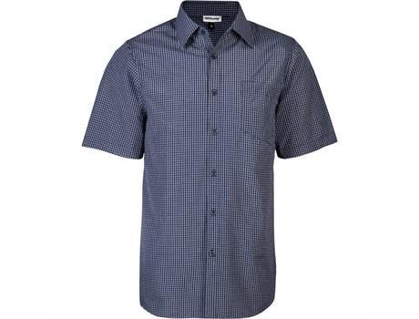 Mens Short Sleeve Cedar Shirt - Navy Only