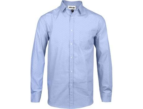 Mens Long Sleeve Duke Shirt - Light Blue Only