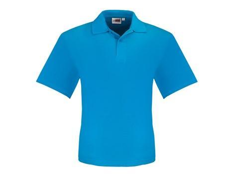 Mens Elemental Golf Shirt - Aqua Only