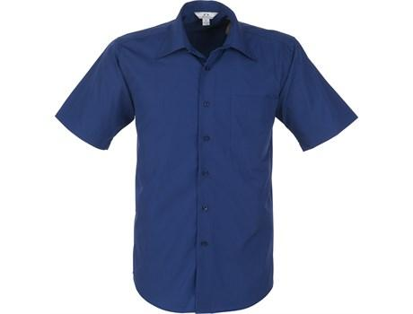 Mens Short Sleeve Metro Shirt - Royal Blue Only
