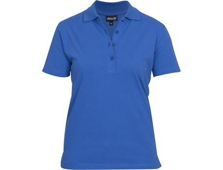 Ladies Michigan Golf Shirt - Royal Blue Only