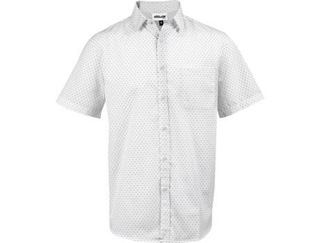 Mens Short Sleeve Duke Shirt - White Only