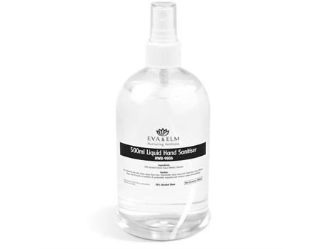 Eva & Elm Medway Liquid Hand Sanitiser Spray - 500ml